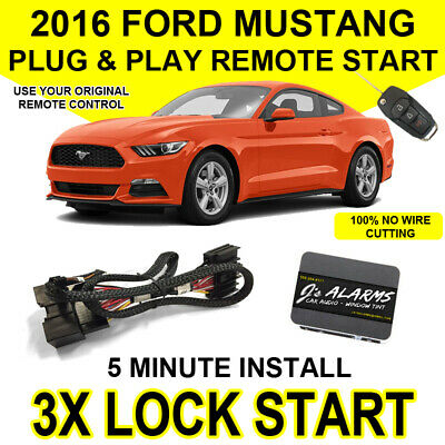 2014 2017 ford fusion remote start plug and play easy install truck 2015 2017 ford mustang remote start plug and play easy install 3x lock gt push sciox Image collections