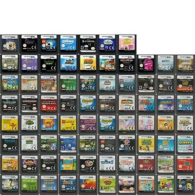 💚💛 DS DSi DSLite XL 2DS 3DS - GAMES BASED ON POPULAR CHARACTERS -  16/04/18