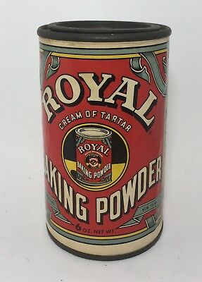 Antique Vintage Royal Baking Powder / collection brand cans