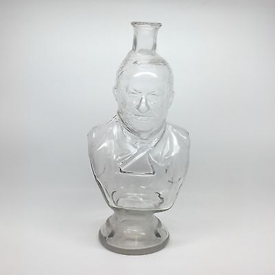 Antique LeGras Figural Whiskey Bottle Louis Adolphe Thiers President of France