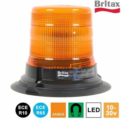 LAP122 12V 1 Bolt R65 Rotating Amber Hazard Warning Recovery Beacon Van Truck