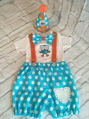 Cake Smash Giggle And Hoot  Photo  Birthday Party  Clothes Baby Romper