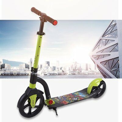 Kinetic Sports Scooter Cityroller Tretroller Klappbar XXL Räder 100kg  63*14cm