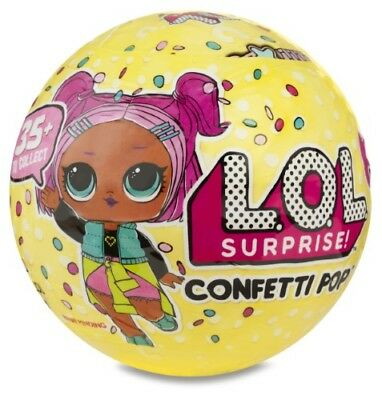 New Sealed Lol Surprise! Confetti Pop Series 3 Doll 9 Surprises Inside 35+ Colle