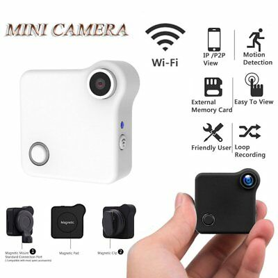 Pocket WiFi Mini Camera HD IP Network Wireless Motion Sensor DV For Smart Phone