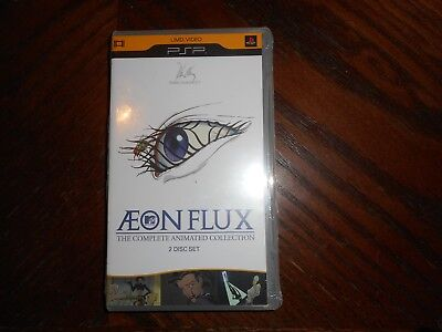 Aeon Flux - The Complete Animated Collection (UMD, 2008, 2-Disc Set) NEW Sealed