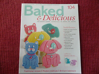 Baked And Delicious Cake Recipe Magazine Issue 104 Eaglemoss Partworks