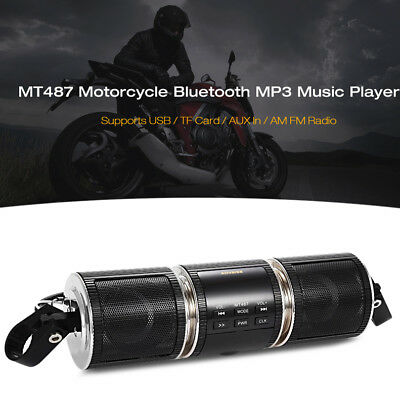 VETOMILE Motorbike Bluetooth MP3 Water-resistant LED Display Stereo MP3 Player