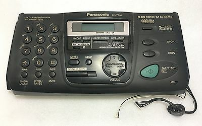 Panasonic KX-FPC165 Fax Machine Replacement Front Panel Part - Tested