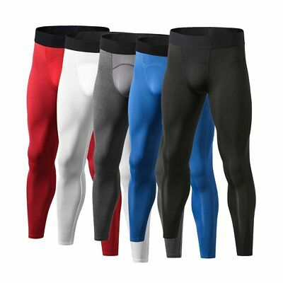 Yuerlian Breathable Men Compression Pants Quick Drying Running Leggings HL