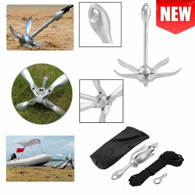 2017 New Folding Grapnel Anchor Kit 1.5kg for PWC/Kayaks/Jet Skis/Dinghys/RIB UK
