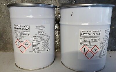5 Kg (Uv Stable) Crystal Clear  Epoxy Resin