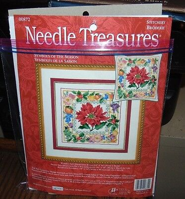 Needle Treasures Symbols of the Season Crewel Embroidery Kit