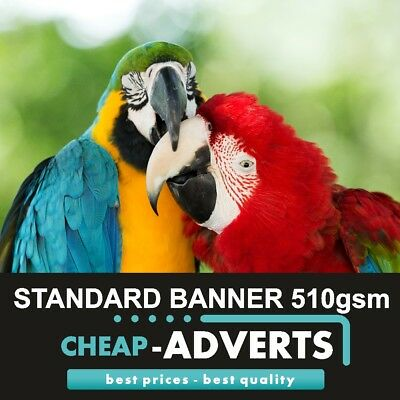 Pvc Vinyl Banners - Free Design - Printed Outdoor Advertising Sign Display !!!