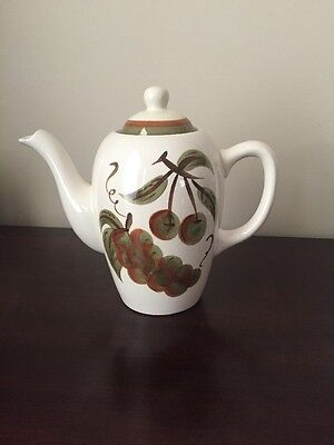 Stangl Pottery ORCHARD SONG 6 Cup Coffee Pot with Lid