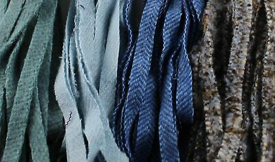 100% Wool Assorted Up-Cycle and New - #8 - Qty 100 - Blues