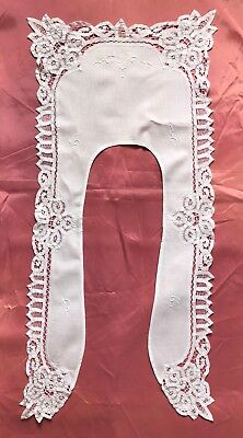 Vintage Style Embroidered Cutwork Lace LAYOVER COLLAR: Rendezvous, New Orleans