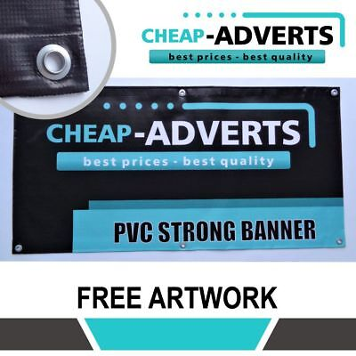 FREE ANYDESIGN BANNERS PVC VINYL 200 cm x 150 cm PRINTED OUTDOOR SIGN