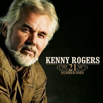 Kenny Rogers - 21 Number Ones [ Hits ] - CD - NEW! FREE SHIPPING!