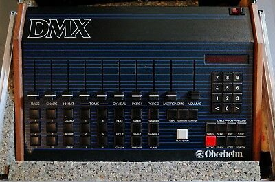 Oberheim DMX + Oberheim DSX  Inkl. Case | Drum Machine + Sequencer | Top Zustand
