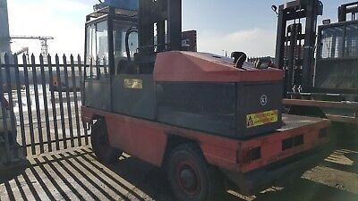 USED LINDE Side Loaders S50 YOM 2002 CHOICE OFF 4 £6950 Each + VAT 5000 Capacity