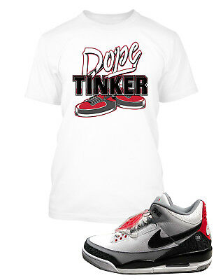 ffc0990d9850c7 Dope Tee Shirt To match Jordan 3 Tinker Shoe Men Graphic T Sizes Small to  10XL