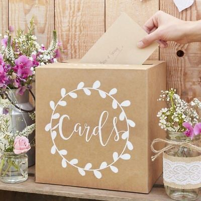 WEDDING POST BOX - RUSTIC COUNTRY -Wedding Cards Post Box
