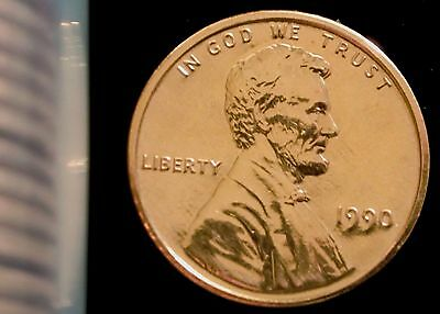 1990-P Philadelphia Mint Lincoln Memorial Penny BU