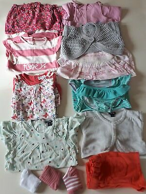 Lot de 17 vêtements fille 9 mois / 12 mois ☆ VERTBAUDET ☆ KITCHOUN