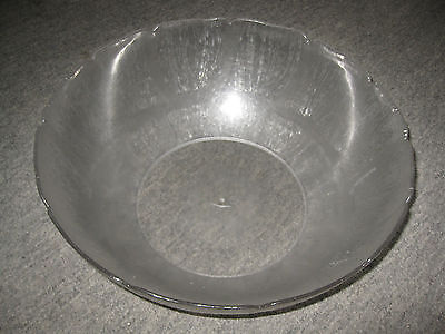 "Lot of 5 Large Plastic Serving Bowls 15"" x 5"" Prep Bowl, Restaurant/Catering"
