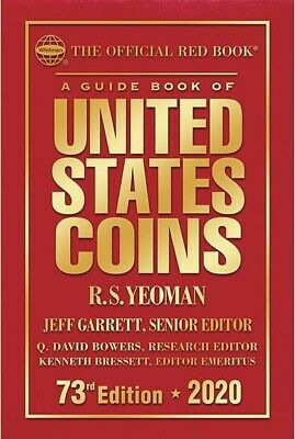 2019 Official New Red Book Guide of United States US Coins Price List Hardcover
