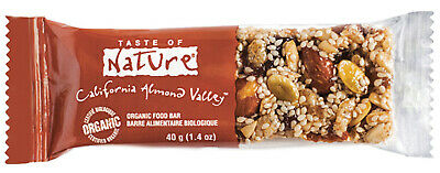 Taste of nature barretta con mandorle biologica 40gr