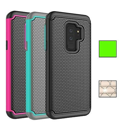 Fits Samsung Galaxy S9 Case Rugged Impact Hybrid Dual Layer Shockproof Cover