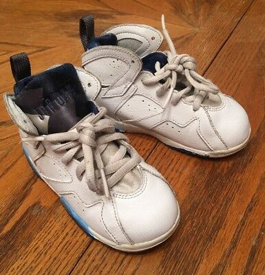 467c66a04c41b closeout jordan retro 7 french blue toddler 54809 239f2