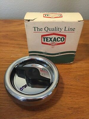 Vintage Texaco GT-28 Gas Cap NOS Original Gas Station Box.