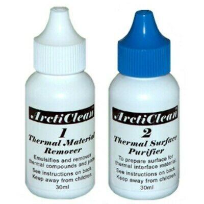 Arctic Silver ArctiClean Thermal Compound Remover 60ml Kit AS-ACN-60ml