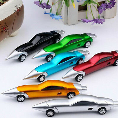 5Pcs/set Funny Novelty Design Racing Car Shaped Ballpoint Pen Office Gifts