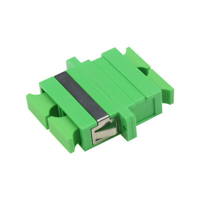 500pc SC APC SM Duplex Fiber Optic Adapter SC/APC Flange Coupler Adaptor