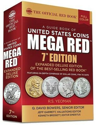 The New 2019 Official Mega Red Book A Guide of United States Coins US Price List