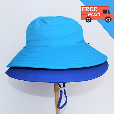 Seconds Kids Bucket Sun Hat Baby Boy Toddler Adjustable UPF 50+ FREE SHIPPING