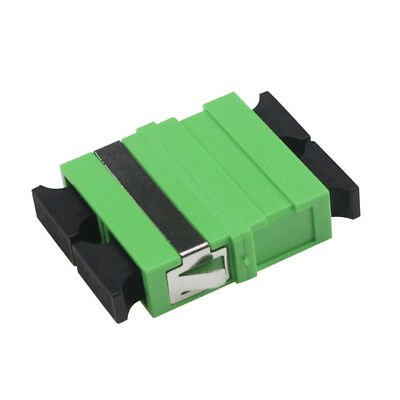 500pcs SC APC Duplex Fiber Optic Adapter SC-SC Single/multi Mode Flange Coupler