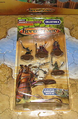 NIB 5 Heroes of the Molten Sea Wave 8 Defenders of Kinsland Heroscape D&D minis