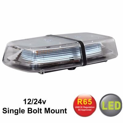 RVL1224SP Bolt-On LED Ambra Mini Barra Luminosa Allarme Lampeggiante Beacon