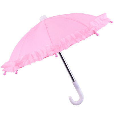 Fashion Pink Umbrella American Girl for 18inch American Girl Doll Clothes Party