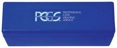 PCGS Classic Slab Blue Coin Box For 20 Certified Graded Slabs Storage Official