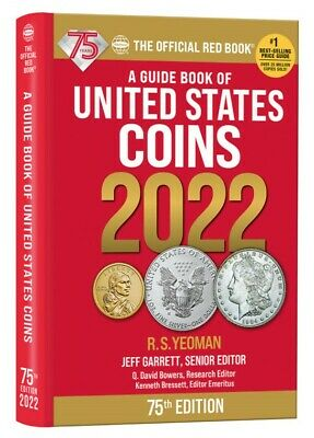 New 2020 Red Book Guide of United States Coin Price List Hidden Spiral Whitman