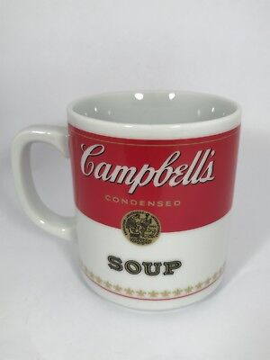 Vintage 1981 Campbell's Condensed Soup Coffee Mug Cup Genuine Porcelain Corning