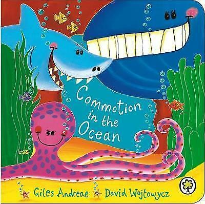 Commotion in the Ocean:Board Book by Giles Andreae-9781408308455-F060