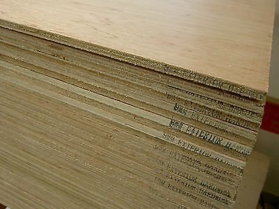 Plywood, Hardwood, Exterior Ply Sheets 8u0027 X 4u0027 X 9mm