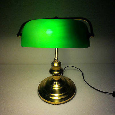 Antiques Brass Table Lamp Maritime Ship Vintage Marine (1)